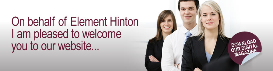 welcome to Element Hinton